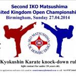 Turniej w Birmingham 27.04.2014